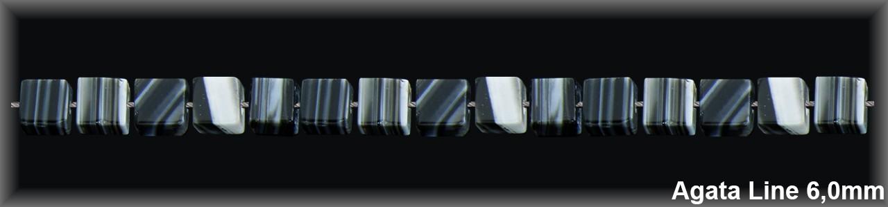 Cubo agata line 6 mm T.R.-1 Hilo 63Pzas-