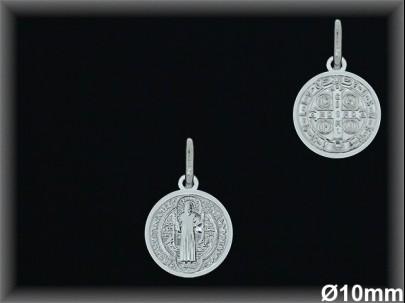 Medallas Plata San Benito ref 33l601d14 Movegranada