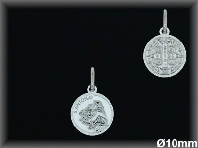 Medallas Plata San Antonio ref 33l604 Movegranada
