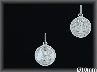 Medallas Plata San Genaro ref 33l603 Movegranada