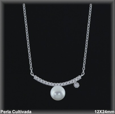 Gargantilla Perlas ref 7r024 Mayoristas Collares Perlas Cultivada