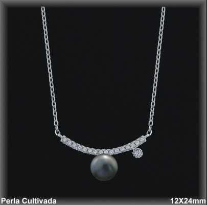 Gargantilla Perlas ref 7r024g Mayoristas Collares Perlas Cultivada