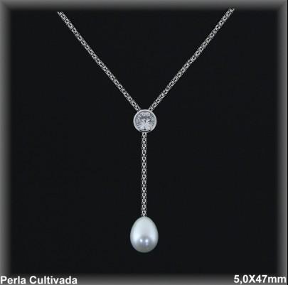 Gargantilla Perlas ref 7r028 Mayoristas Collares Perlas Cultivada