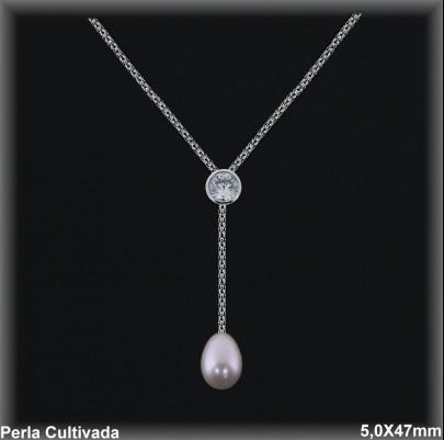 Gargantilla Perlas ref 7r028c Mayoristas Collares Perlas Cultivada
