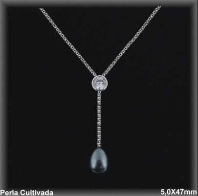 Gargantilla Perlas ref 7r028g Mayoristas Collares Perlas Cultivada