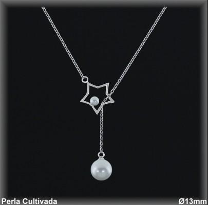 Gargantilla Perlas ref 7r025 Mayoristas Collares Perlas Cultivada