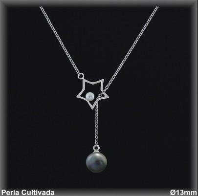 Gargantilla Perlas ref 7r025g Mayoristas Collares Perlas Cultivada