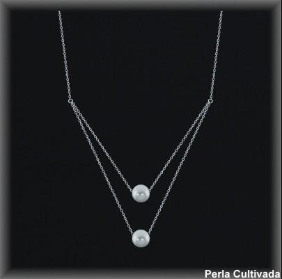 Gargantilla Perlas ref 7r008 Mayoristas Collares Perlas Cultivada