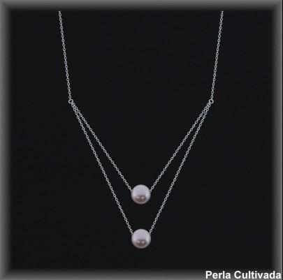 Gargantilla Perlas ref 7r008c Mayoristas Collares Perlas Cultivada