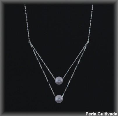 Gargantilla Perlas ref 7r008g Mayoristas Collares Perlas Cultivada