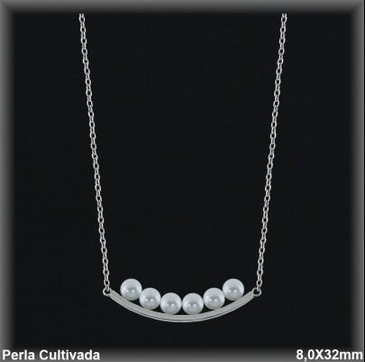 Gargantilla Perlas ref 7r023 Mayoristas Collares Perlas Cultivada