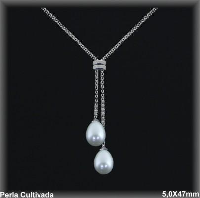 Gargantillas Perlas ref 7r002 Mayoristas Collares Perlas Cultivada
