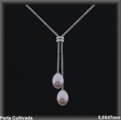 Gargantillas Perlas ref 7r002c Mayoristas Collares Perlas Cultivada