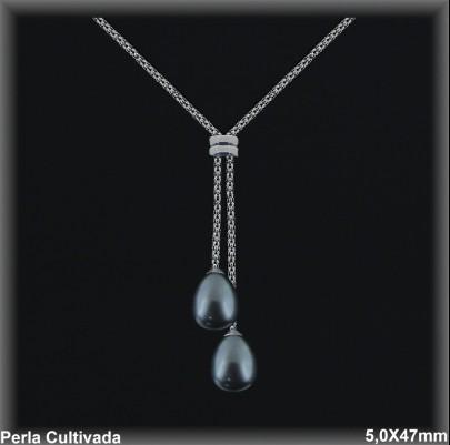 Gargantillas Perlas ref 7r002g Mayoristas Collares Perlas Cultivada