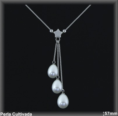 Gargantillas Perlas ref 7r016 Mayoristas Collares Perlas Cultivada