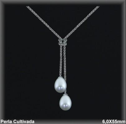 Gargantillas Perlas ref 7r018 Mayoristas Collares Perlas Cultivada