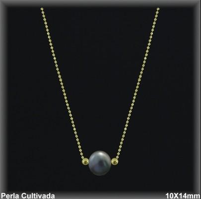 Gargantillas Perlas ref 7r003ag Mayoristas Collares Perlas Cultivada
