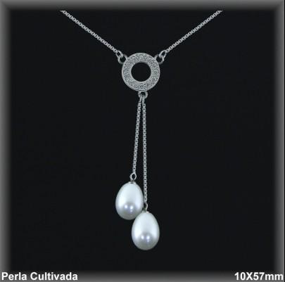 Gargantillas Perlas ref 7r017 Mayoristas Collares Perlas Cultivada