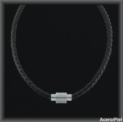Collar Acero ref 99G003n Mayoristas Joyas de acero Hombre