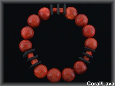 Pulseras Coral- Mayoristas Plata al por Mayor - Movegranada