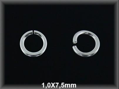 Anilla plata  abierta 1 x 75 mm