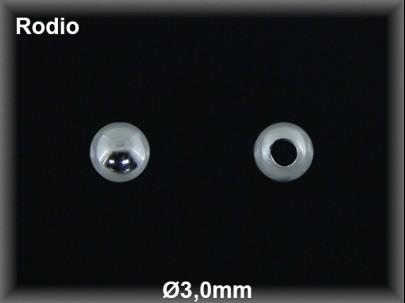 Fornitura Bola Plata 925 rodio 3 mm ref FB005R Movegranada
