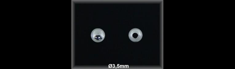 Fornitura Bola Plata 925 lisa 3.5 mm ref FB006 Movegranada