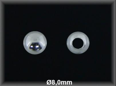 Fornitura Bola Plata 925 lisa 8 mm ref FB018 Movegranada