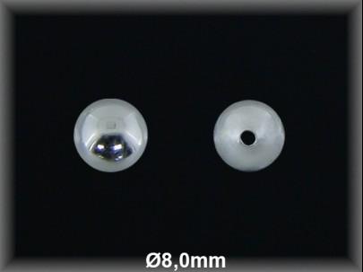 Fornitura Bola Plata 925 lisa 8 mm ref FB019 Movegranada