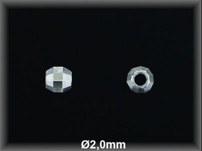Fornitura Bola Plata 925 lisa prisma ref FB095 Movegranada