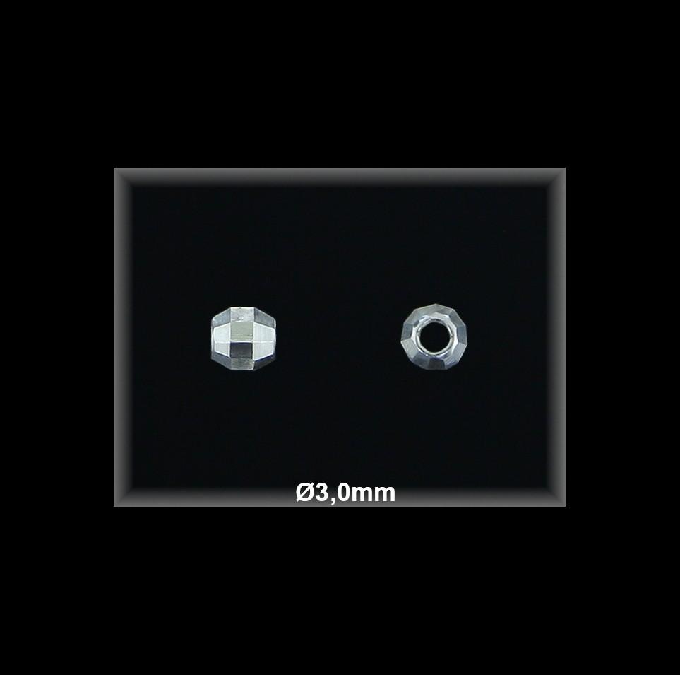 Fornitura Bola Plata 925 lisa prisma ref FB096 Movegranada