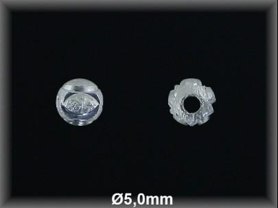 Fornitura Bola Plata 925 lisa tallada ref FB170 Movegranada