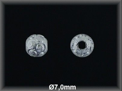 Fornitura Bola Plata 925 lisa tallada ref FB174 Movegranada