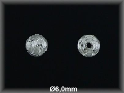 Fornitura Bola Plata 925 lisa tallada ref FB190 Movegranada