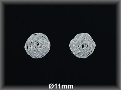 Fornitura Bola hilo Plata 925 lisa 11 mm ref FB287 Movegranada