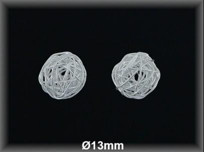 Fornitura Bola hilo Plata 925 lisa 13 mm  ref FB290 Movegranada