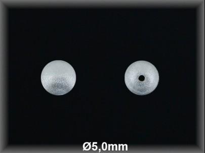 Fornitura Bola Plata 925 mate 5 mm ref FBL001 Movegranada