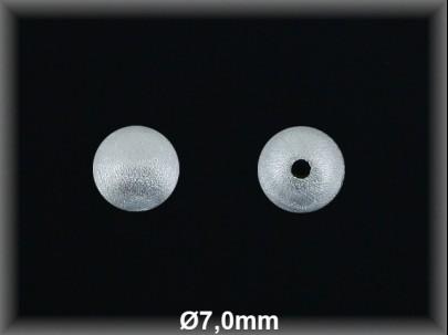 Fornitura Bola Plata 925 mate 7 mm ref FBL003 Movegranada