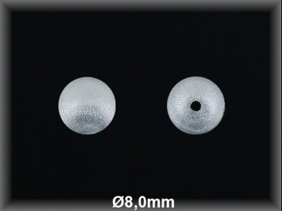 Fornitura Bola Plata 925 mate 8 mm ref FBL004 Movegranada