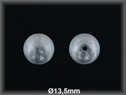 Bola plata  mate  brillo 13.5 mm