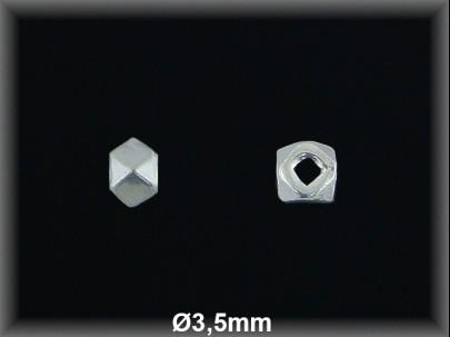 Fornitura Bola Plata 925 lisa prisma ref FBL016 Movegranada