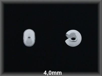 Cierre plata  bola abierta 4 mm