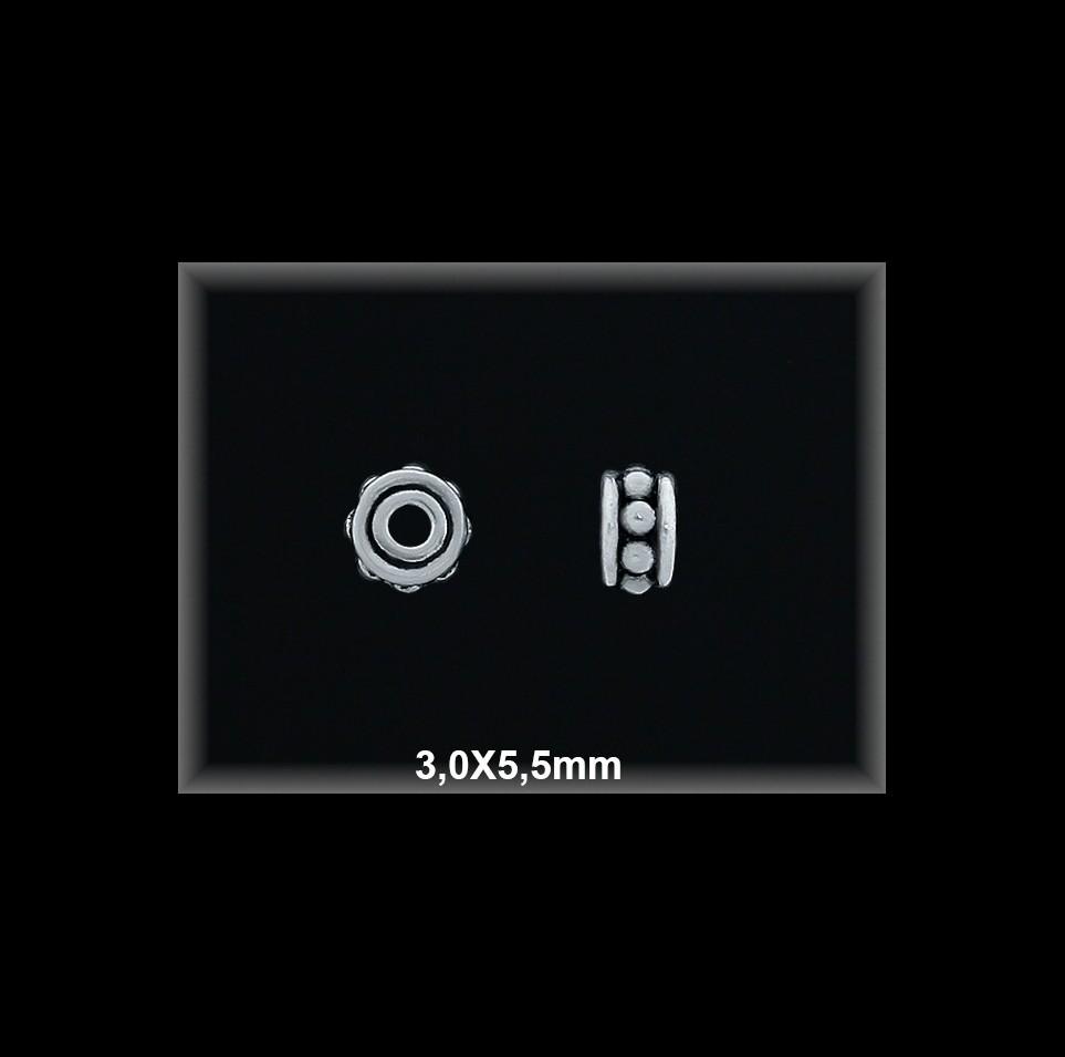 Fornitura Entrepieza Plata 925 oxido ref FE360 Movegranada