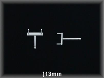 Fornitura Plata 925 pendientes doble ref FP251 Movegranada