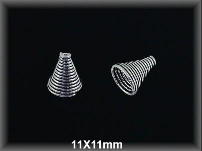 Fornitura Capuzon Plata 925 oxido ref FZL022 Movegranada