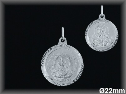 Medallas Plata 925 - Mayoristas Plata al Mayor - Movegranada -