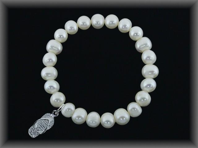 Pulseras Perlas elásticas